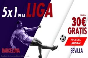 Suertia: Barça vs. Sevilla. Apuesta y llévate hasta 30€ GRATIS