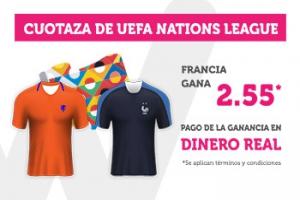 Wanabet: Holanda vs. Francia @2.55