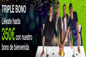 Codere: Triple Bono. Bono de Bienvenida de hasta 350€