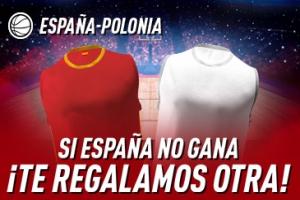 Sportium: España vs. Polonia. Si los nuestros no ganan ¡Devolución!