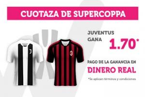 Wanabet:  Juventus @1.70 vs. AC Milán