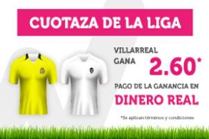 Wanabet:  Villarreal @2.60 vs. Valencia