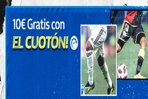William Hill: Madrid vs. Rayo. 10€ GRATIS con el CUOTÓN