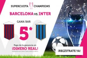 Wanabet: Barça @5.0 vs. Inter + 200€