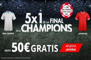 Suertia: Madrid vs. Liverpool. Apuesta y llévate hasta 50€ GRATIS