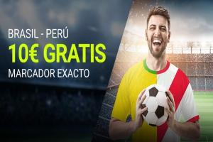 Luckia: Brasil vs. Perú. Apuesta segura