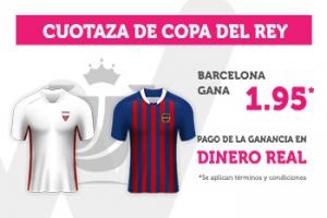 Wanabet: Sevilla vs. FC Barcelona @1.95