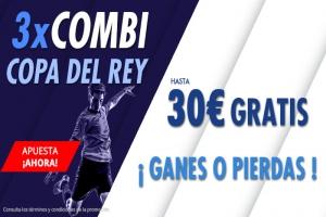 Suertia: Copa del Rey. Combina y llévate hasta 30€ GRATIS