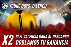 Sportium: Y.Boys vs. Valencia. Dobla tus ganancias