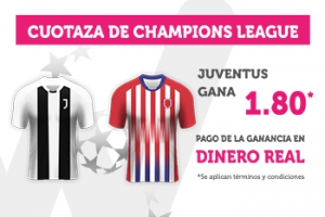 Wanabet: Juventus @1.80 vs. At. Madrid