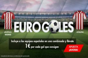 Suertia: Europa League. Combina a los españoles y llévate 1€ por cada gol