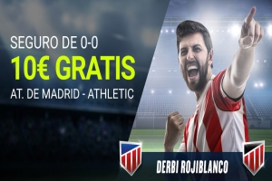 Luckia: At. Madrid vs. Ath. Bilbao. Apuesta segura
