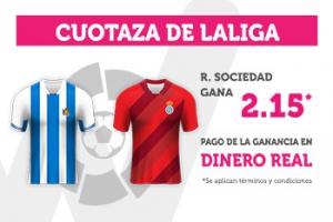 Wanabet: Real Sociedad @2.15 vs. Espanyol