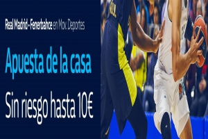 William Hill: Final Euroliga. Madrid vs. Fenerbahce. Apuesta de la casa