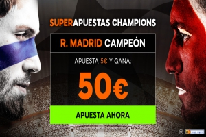 888Sport: Final Champions. Real Madrid @10.0 vs. Liverpool