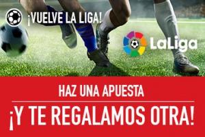 Sportium: La Liga. Haz una apuesta y te regalamos otra