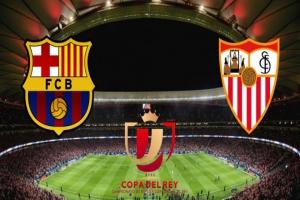 Apuesta a la Final de Copa del Rey. Barça vs. Sevilla
