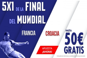 Suertia: Francia vs. Croacia. Apuesta y llévate hasta 50€ GRATIS