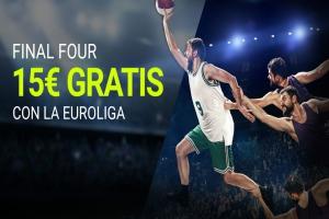 Luckia: Llévate 15€ GRATIS, por tus apuestas en la Final Four