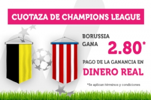 Wanabet: Borussia Dortmund @2.80 vs. At. Madrid
