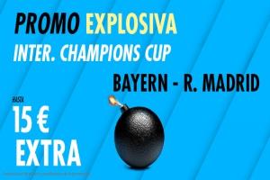Suertia: Bayern Munich vs. Real Madrid. Llévate 15€ EXTRA con tu apuesta