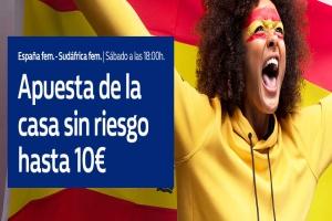 William Hill: España vs. Sudáfrica. Hasta 10€ sin riesgo