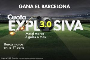Suertia: Celta vs.Barça. Haz tu apuesta y consigue una cuota @3.0