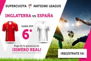 Wanabet: España @6.0 vs. Inglaterra + 200€