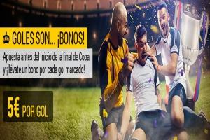 Bwin: Final Copa: Barça vs. Sevilla. Gana 5€ por gol