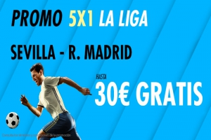 Suertia: Sevilla vs. Real Madrid. Haz tu apuesta y llévate hasta 30€ GRATIS