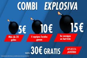 Suertia: LaLiga (J1). Combina y llévate hasta 30€ GRATIS