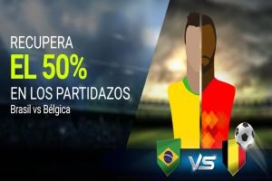 Luckia: PARTIDAZOS. Recupera el 50% de tus apuestas (PSG - Real Madrid)
