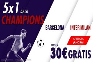 Suertia: Barça vs. Inter. Apuesta y llévate hasta 30€ GRATIS