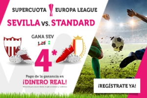 Wanabet: Sevilla @4.0 vs. Standard + 200€