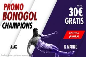 Suertia: Ajax vs. Madrid. Haz tu apuesta y llévate hasta 30€ GRATIS
