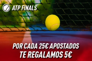 Sportium: ATP Finals. Haz tus apuestas y te damos 5€ ¡¡¡GRATIS!!!