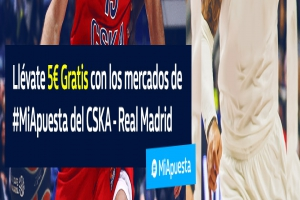 William Hill: Final Four. CSKA vs. Madrid. #MiApuesta Llévate 5€ GRATIS